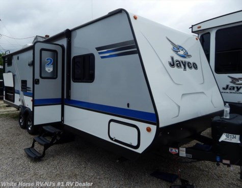 2018 Jayco Jay Feather 25BH Two Bedroom Sofa/Dinette Slideout