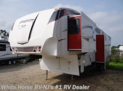 Used 2010  Keystone Fuzion 383 Triple Slide with Generator by Keystone from White Horse RV Center in Williamstown, NJ