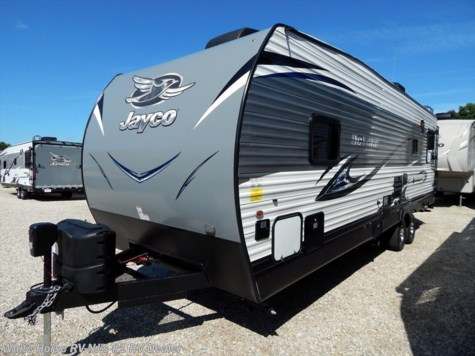 2018 Jayco Octane Super Lite 272 SL Front Is. Queen Bed w/8' Garage Area & Bunk