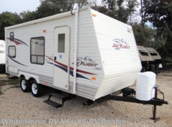 Used 2008  Jayco Jay Flight 19 BH - Rear Bunks, Front Sofa by Jayco from White Horse RV Center in Williamstown, NJ