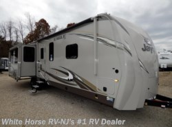 New 2018  Jayco Eagle 338RETS Rear Entertainment Triple Slideout by Jayco from White Horse RV Center in Williamstown, NJ