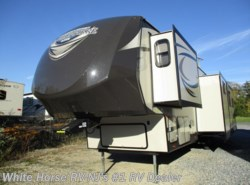 Used 2016  Forest River Salem Hemisphere Lite 368RLBHK 2-BdRM Mid Den/Bunk Quad Slide by Forest River from White Horse RV Center in Williamstown, NJ