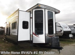 Used 2013  Forest River Cherokee Destination T39FL Front Living Room Quad Slide by Forest River from White Horse RV Center in Williamstown, NJ