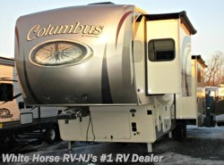 Used 2017  Palomino Columbus 377MB 2-BdRM Mid Bunk Rear Living Quad Slide by Palomino from White Horse RV Center in Williamstown, NJ