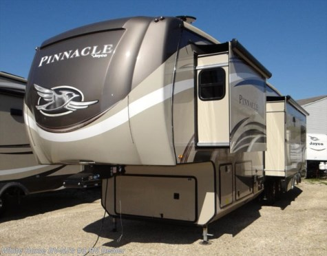 2018 Jayco Pinnacle 36KPTS Rear Living Room Triple Slide