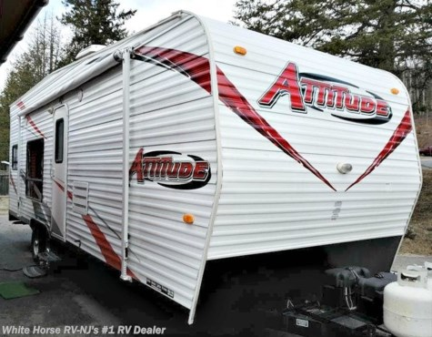 2015 Eclipse Attitude 23FB Pro Lite Toy Hauler Trailer w/Rear Ramp