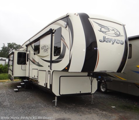 2016 Jayco North Point 377RLBH 3-BdRM Quad Slide