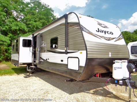 2019 Jayco Jay Flight 34RSBS Rear Living Room Triple Slideout