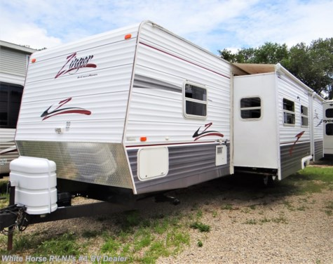 2007 CrossRoads Zinger 32SB 2-BdRM Double Slide