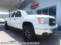 Used 2012  GMC  Sierra 2500HD Work Truck 4x4 4dr Crew Cab SB by GMC from Motorsports Unlimited in Mcalester, OK