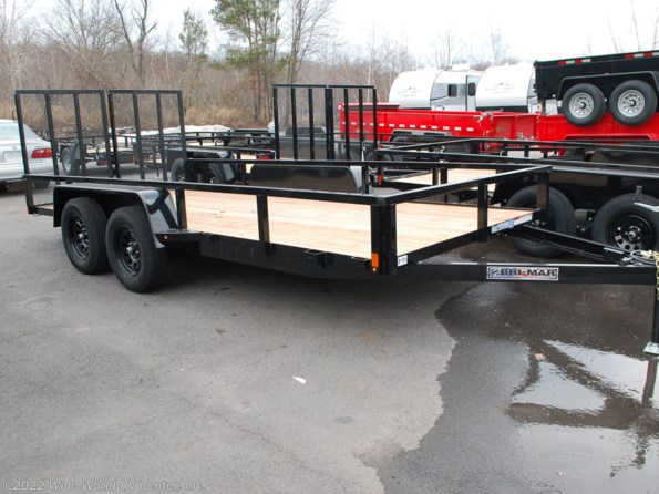 2021 Bri-Mar UT-716 7 x 16 Tube Top Utility Trailer available in Wilkes-Barre, PA