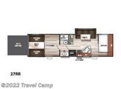 New 2019  Forest River Cherokee Grey Wolf 27RR by Forest River from Travel Camp in Jacksonville, FL