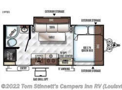New 2018  Forest River Rockwood Geo Pro G19FBS by Forest River from Tom Stinnett's Campers Inn RV in Clarksville, IN