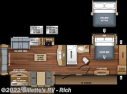 New 2018  Jayco Eagle 322RLOK by Jayco from Gillette's RV in East Lansing, MI