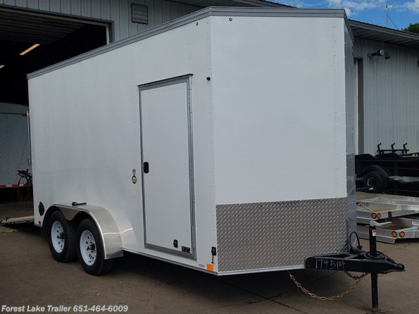 2021 United Trailers XLV 7x14 Ramp Door 7