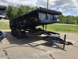 2021 Top Hat DUMP TRAILER WITH TARP 7X14 available in Walker, MN