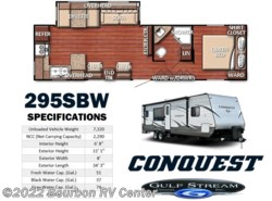 New 2018  Gulf Stream Conquest 295SBW by Gulf Stream from Bourbon RV Center in Bourbon, MO