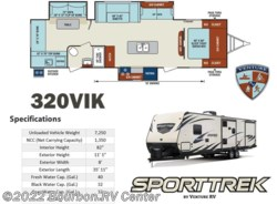 New 2018  Venture RV SportTrek ST320VIK by Venture RV from Bourbon RV Center in Bourbon, MO