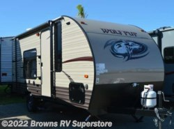 New 2017  Forest River Cherokee Wolf Pup 16FQ by Forest River from Brown's RV Superstore in Mcbee, SC