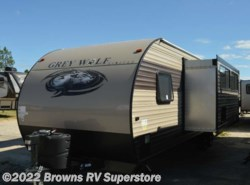 New 2018  Forest River Grey Wolf 26DBH by Forest River from Browns RV Superstore in Mcbee, SC