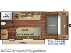 New 2018  Starcraft Autumn Ridge Outfitter 18QB by Starcraft from Browns RV Superstore in Mcbee, SC
