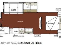 Used 2012  Forest River Wildwood 26TBSS by Forest River from Campbell RV in Sarasota, FL