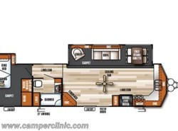 New 2018  Forest River Salem VILLA 394FKDS by Forest River from Camper Clinic, Inc. in Rockport, TX