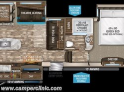 New 2018  Grand Design Reflection 320MKS by Grand Design from Camper Clinic, Inc. in Rockport, TX