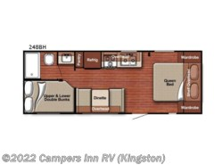 New 2018  Gulf Stream Friendship 248BH by Gulf Stream from Campers Inn RV in Kingston, NH