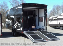 New 2017  Livin' Lite  QuickSilver™ Toy Haulers 8.5x24FBA by Livin' Lite from Carolina Coach & Marine in Claremont, NC