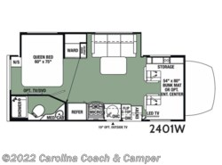 New 2018  Forest River  2401W by Forest River from Carolina Coach & Marine in Claremont, NC