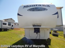 Used 2011  Keystone Montana Mountaineer 345DBQ by Keystone from Chilhowee RV Center in Louisville, TN