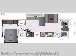 New 2017  Forest River Georgetown 5 Series 31L5 by Forest River from Campers Inn RV in Ellwood City, PA