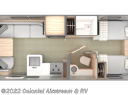 New 2019 Airstream Globetrotter 25FBT Twin available in Lakewood, New Jersey