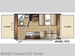 New 2017  Palomino Solaire 147 X by Palomino from Cooper's RV Center in Murrysville, PA