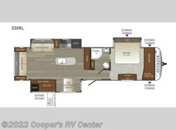 New 2017  Keystone Outback 330RL by Keystone from Cooper's RV Center in Murrysville, PA