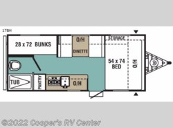 New 2017  Viking  Ultra-Lite 17BH by Viking from Cooper's RV Center in Murrysville, PA