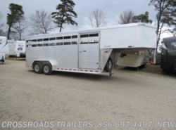 New 2017  Sundowner Rancher 20 Stock Gooseneck by Sundowner from Crossroads Trailer Sales, Inc. in Newfield, NJ