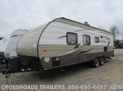 Used 2016  Forest River Cherokee Grey Wolf 26BH by Forest River from Crossroads Trailer Sales, Inc. in Newfield, NJ