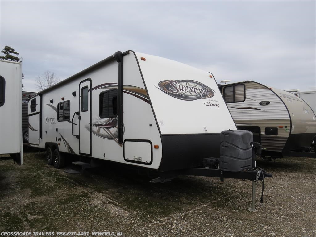 Used Travel Trailer - 2014 Forest River Surveyor Sport SP295BHS