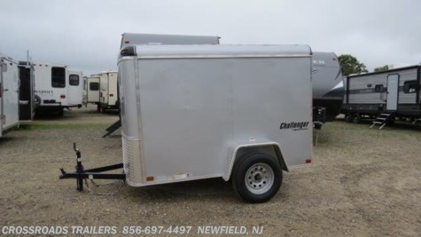 2019 Homesteader Challenger 5x8 ENCLOSED CARGO TRAILER