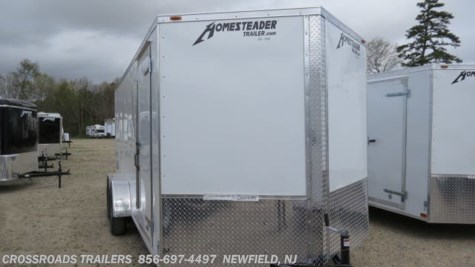 2020 Homesteader Intrepid 7x16 Enclosed Cargo Trailer