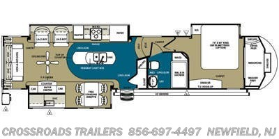 2014 Forest River Sandpiper 35ROK - Stock #8948