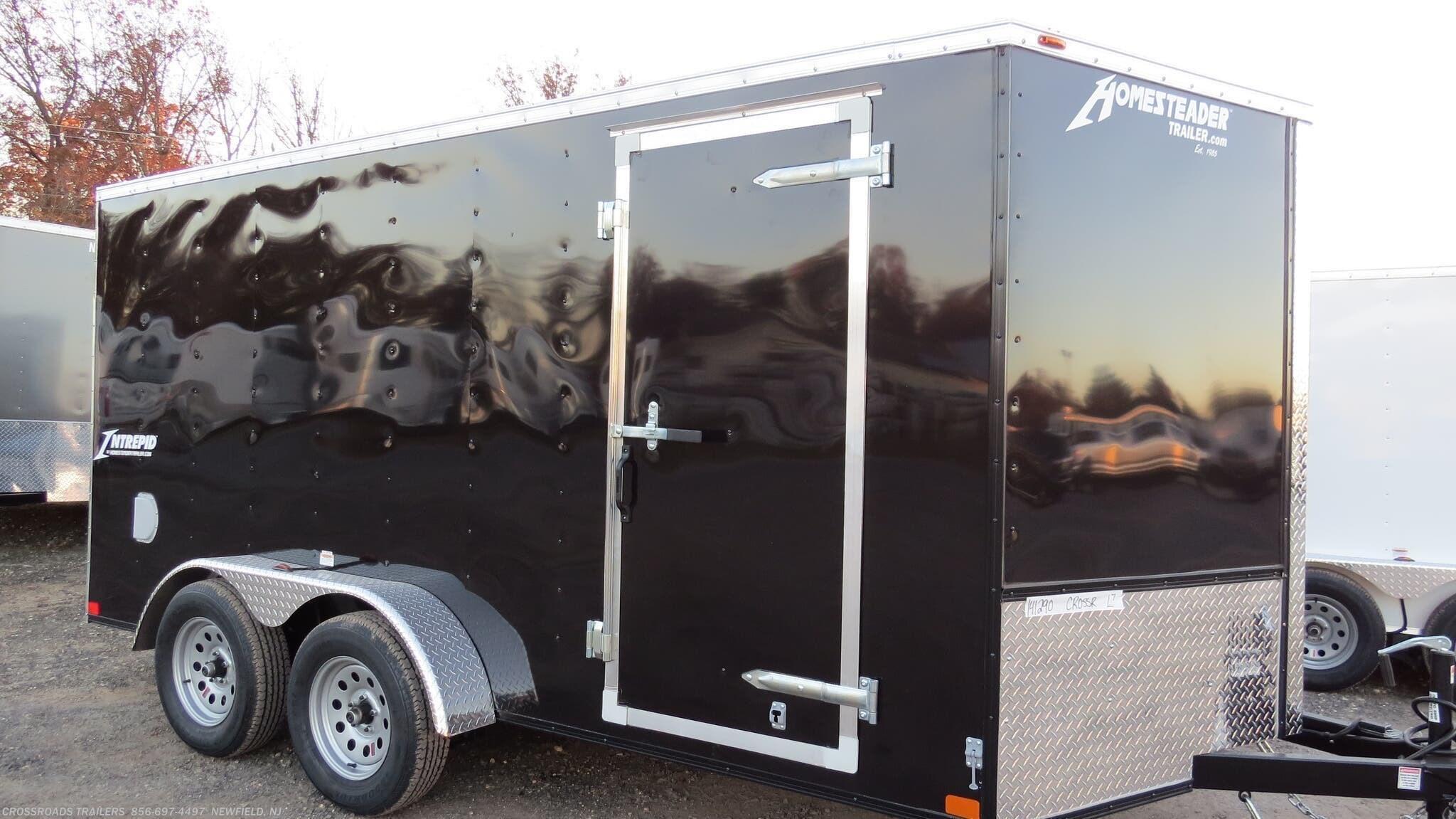 2021 Homesteader Intrepid 7x16 Enclosed Cargo Trailer - Stock #766